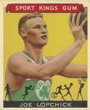 1933 Goudey Sport Kings Joe Lopchick #32 Basketball Card