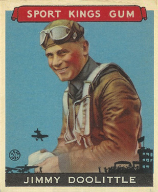 1933 Goudey Sport Kings Jimmy Doolittle #28 Boxing & Other Card