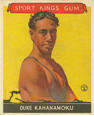 1933 Goudey Sport Kings Duke Kahanamoku #20 Boxing & Other Card