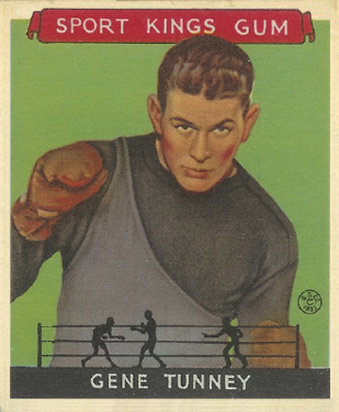 1933 Goudey Sport Kings Gene Tunney #18 Boxing & Other Card