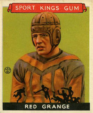 1933 Goudey Sport Kings Red Grange #4 Football Card