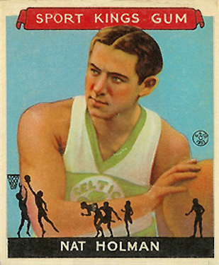 1933 Goudey Sport Kings Nat Holman #3 Basketball Card