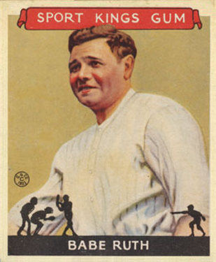 1933 Goudey Sport Kings Babe Ruth #2 Baseball Card