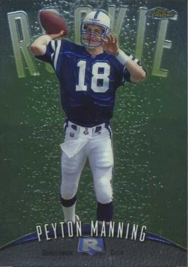 1998 Finest Peyton Manning #121 Football Card