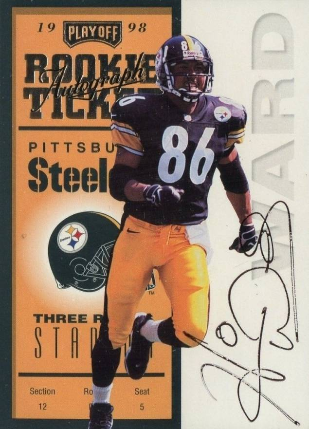1998 Playoff Contenders Ticket Hines Ward #94 Football Card