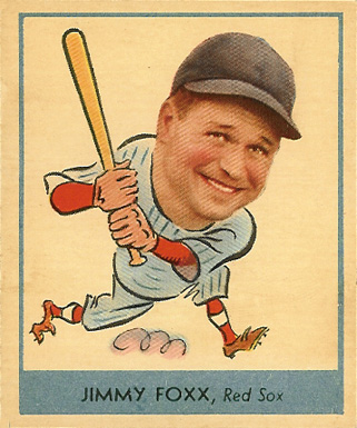 1938 Goudey  Jimmie Foxx #249 Baseball Card