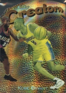 1997 Finest Embossed Refractor Kobe Bryant #323 Basketball Card