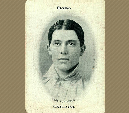 1906 Fan Craze (National) Carl Lundgren #27 Baseball Card