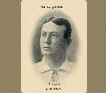 1906 Fan Craze (American) Cy Young #51 Baseball Card