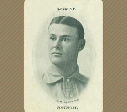 1906 Fan Craze (American) Sam Crawford #9 Baseball Card