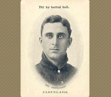 1906 Fan Craze (American) Bill Bernhard #5 Baseball Card