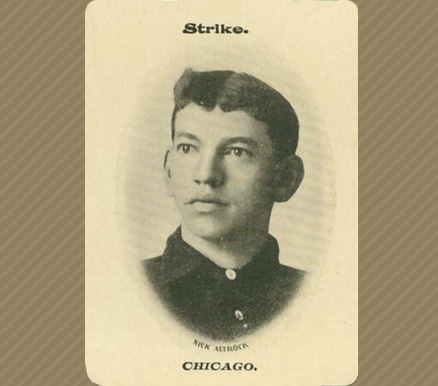 1906 Fan Craze (American) Nick Altrock #1 Baseball Card