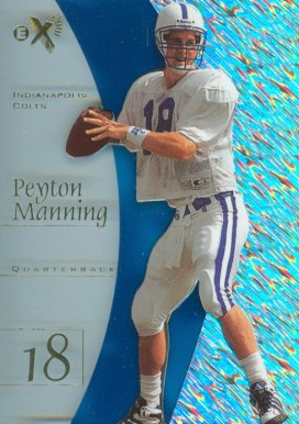 1998 Skybox E-X2001 Peyton  Manning #54 Football Card