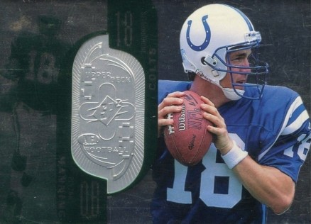 1998 SPx Finite Peyton  Manning #181 Football Card