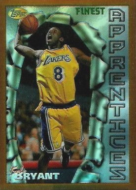 1996 Finest Refractor Kobe  Bryant #74 Basketball Card