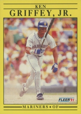 1991 Fleer Ken Griffey Jr. #450 Baseball Card