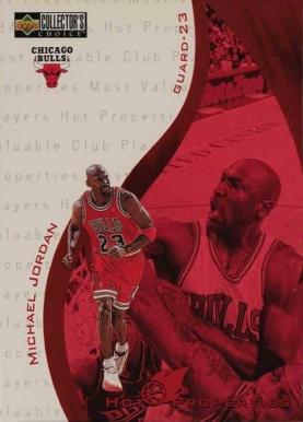 1997-98 Michael Jordan Upper Deck Collectors Choice #390 Chicago Bulls