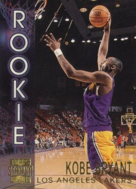 1996 Stadium Club Rookies 2 Kobe  Bryant #R9 Basketball Card