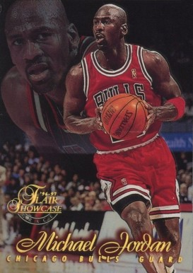1996 Flair Showcase Row 1 Michael Jordan #23 Basketball Card