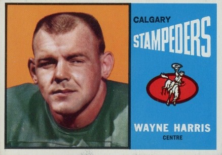 1964 Topps CFL Wayne  Harris #19 Football Card
