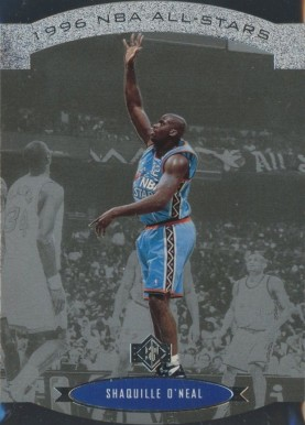 1995 SP All-Star Die-Cut Shaquille O'Neal #5 Basketball Card