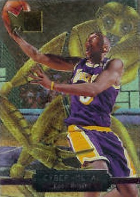 1996 Metal Cyber-Metal Kobe Bryant #5 Basketball Card