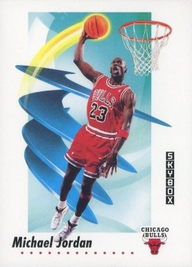 1991 Skybox Michael Jordan #39 Basketball Card