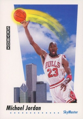 1991 Skybox Michael Jordan #583 Basketball Card