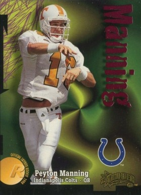 1998 Skybox Thunder Peyton  Manning #239 Football Card
