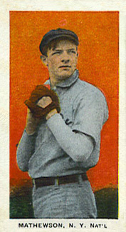 1910 Standard Caramel Christy Mathewson #21 Baseball Card
