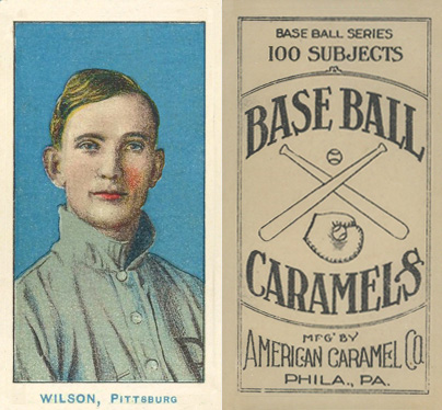 1910 American Caramel Pirates Owen Wilson #11 Baseball Card