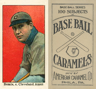 1909 American Caramel Harry Bemis #5 Baseball Card