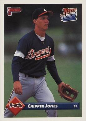Chipper Jones Hall Of Fame Baseball Cards