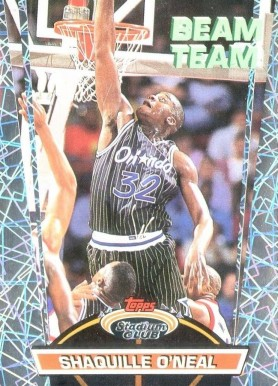1992 Stadium Club Members Only Beam Team Shaquille  O'Neal  #BT21 Basketball Card