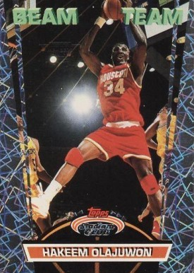 1992 Stadium Club Beam Team Members Only Hakeem Olajuwon #16 Basketball Card