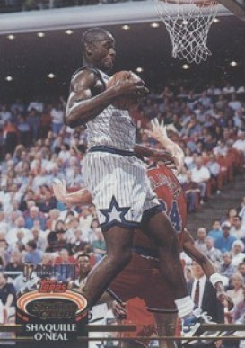 1992 Stadium Club  Shaquille  O'Neal  #247 Basketball Card