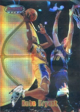1997 Bowman's Best Atomic Refractor Kobe Bryant #88 Basketball Card