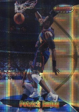 1997 Bowman's Best Atomic Refractor Patrick Ewing #37 Basketball Card