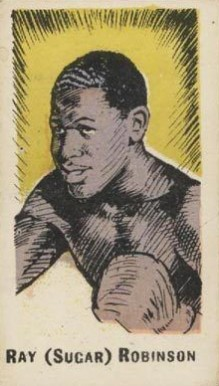 1950 Kiddy's Favourite Ray (Sugar) Robinson #32 Boxing & Other Card