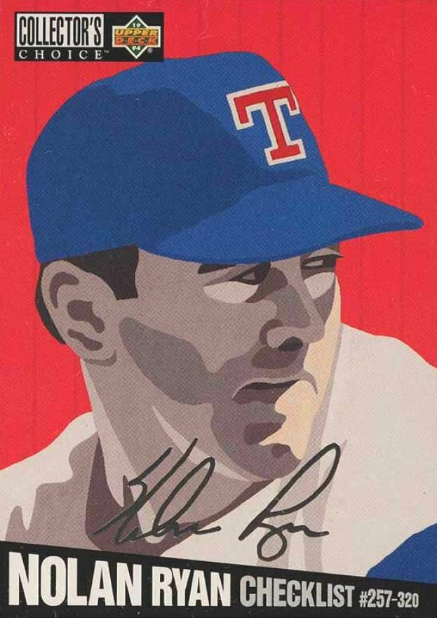 1994 Collectors Choice Silver Signatures Baseball Card Set