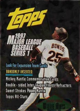 1997 Topps Baseball Card Set Vcp Price Guide