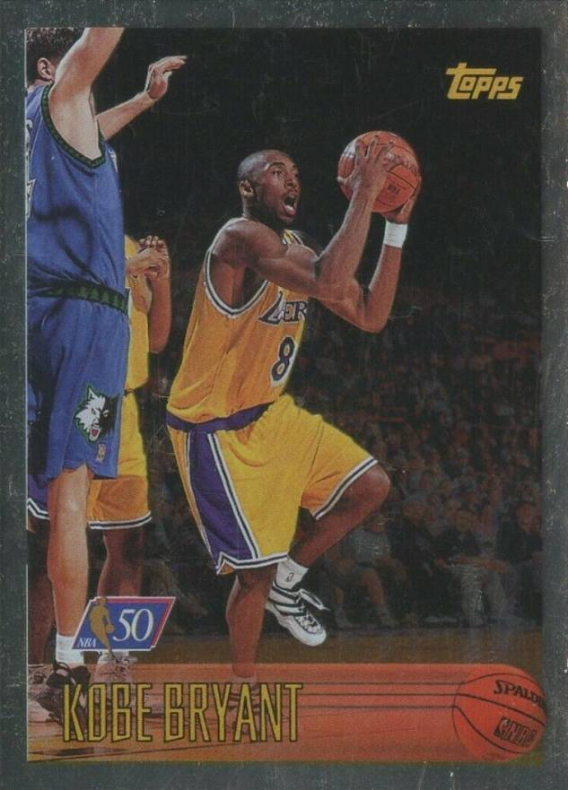 1996 Topps NBA at 50 Kobe  Bryant #138 Basketball Card