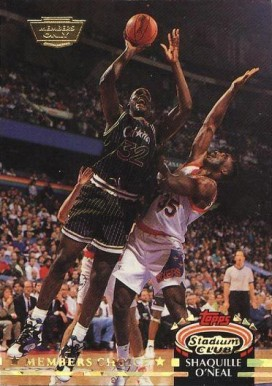 1992 Stadium Club Members Only  Shaquille O'Neal #201 Basketball Card