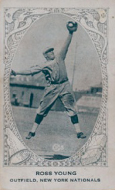 1922 American Caramel--Series of 240 Ross Youngs #239 Baseball Card