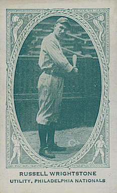 1922 American Caramel--Series of 240 Russell Wrightstone #237 Baseball Card