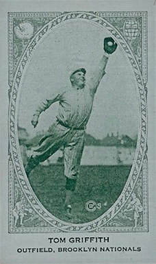 1922 American Caramel--Series of 240 Tom Griffith #76 Baseball Card