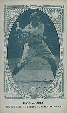 1922 American Caramel--Series of 240 Max Carey #25 Baseball Card