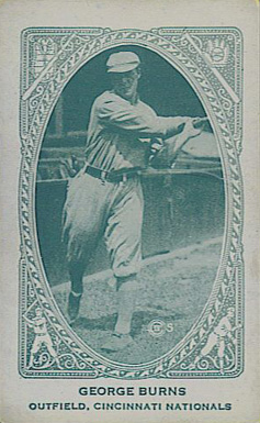 1922 American Caramel--Series of 240 George J. Burns #20 Baseball Card
