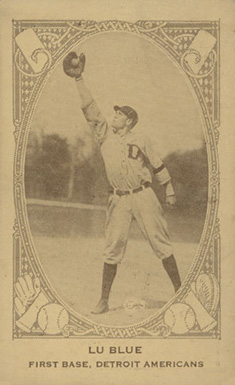 1922 American Caramel--Series of 240 Lu Blue #16 Baseball Card