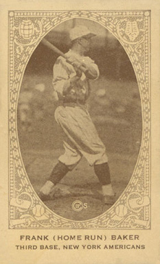 1922 American Caramel--Series of 240 Frank Baker #6 Baseball Card